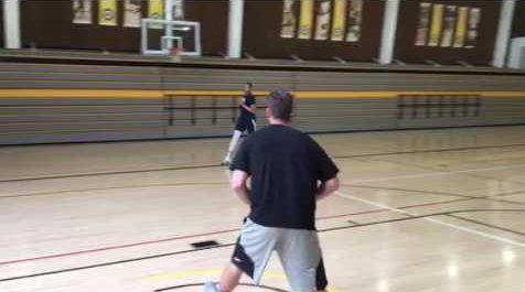 Basketball 6 Spot Shooting Drill