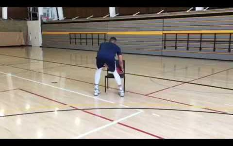 Basketball Chair Drill