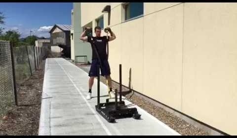 TRX + Sled Work