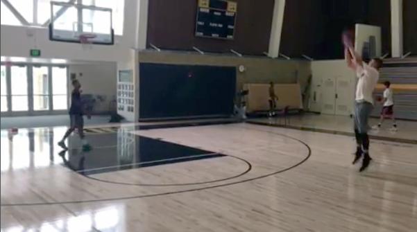 Josh Hawkinson Off Season Lift/Hoop Workout