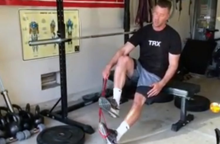 Exercise Routine to Prevent Ankle Sprains